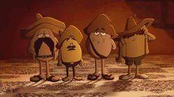 Buzzard eggs 4