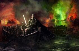 Stannis at the Blackwater