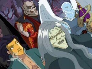 Nerissa's Knights of Destruction