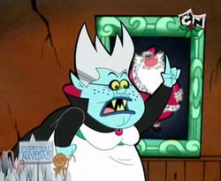 Vampire Nancy Claus