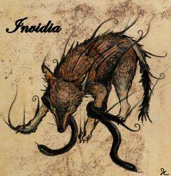 Invidia the Wolf