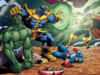 File:Thanos vs Avengers.jpg