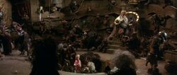 King Jareth's Throne Room