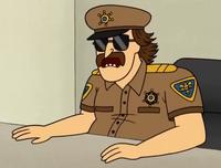 The Officer Regular Show