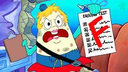 SpongeBob SquarePants Mrs. Puff with Failed Exam