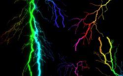 The Rainbow Lightning Bolts