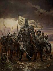 Gregor and his men