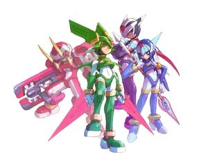 The Four X Guardians