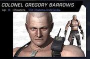 Lieutenant Colonel Gregory Barrows