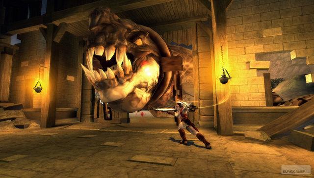 File:Kratos confronts Basilisk 1st.jpg