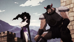 Blueford and Tarkus in the past