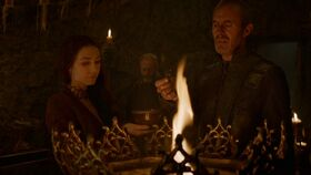 Stannis and leeches