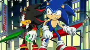 Sonic X - Shadow moments part 1