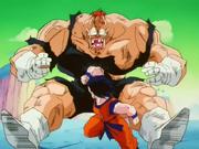 Goku defeats Recoome