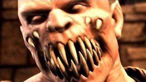 Mortal Kombat X - Baraka Death Scene D'vorah Fatality