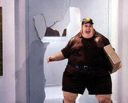 Fat Bastard the mailman