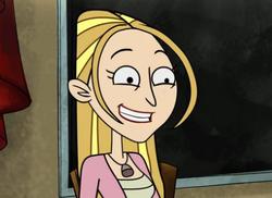 Amber's creepy smile