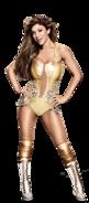 Rosa Mendes Golden Goddess