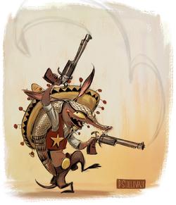 Sheriff Toothpick