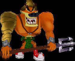 Tiny gladiator 20th anniversary edition render by crasharki-d9xo76s