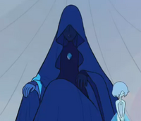 Blue Diamond with her pearl