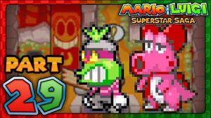 Mario & Luigi- Superstar Saga - Part 29 - Popple and Birdo!