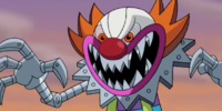 Menacing Metallic Clown