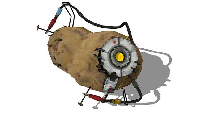 File:GLaDOS as a Potato.jpg
