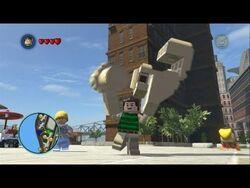 Lego marvel superheroes sandman