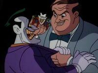 Charlie Collins threatens the Joker
