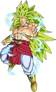 Broly ssj3 v2 by db own universe arts-d4jzwe9