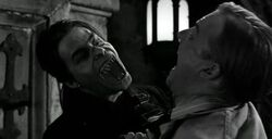 Dracula biting Victor