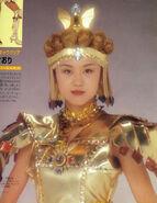 Saori as Sailor Galaxia