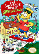 Bart vs. The Space Mutants cover