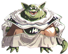 Villain Ozzie drawn ChronoTrigger