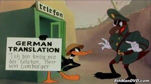 LOONEY TUNES (Looney Toons) Daffy The Commando (Daffy Duck) (1943) (Remastered) (HD 1080p)