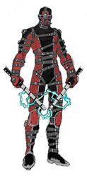 Red Dragon Mercenary