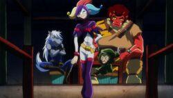Joker, Ulric, Brooha & Brute
