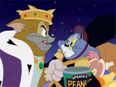 T&J: a nutcracker tale - Tom Cat serves as one of the evil Cat King's minions