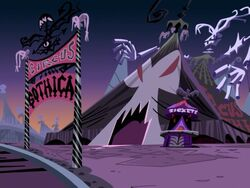 The Circus Gothica Tent