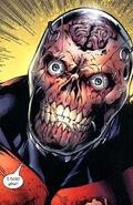 Ultimate Deadpool's face