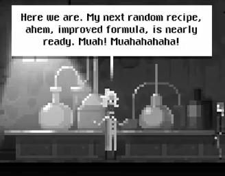Chemist Evil Laugh