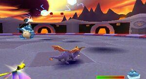 Spyro the Dragon vs. The Sorceress