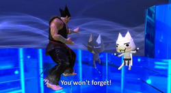 Heihachi vs Toro