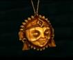 Miquiztli medallion