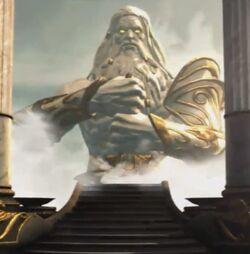Zeus' Statue (Ascension)