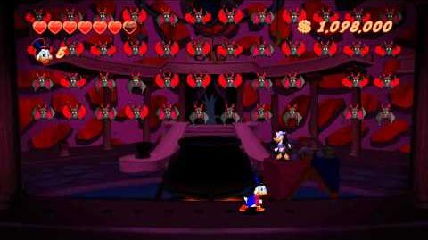 DuckTales Remastered - Final Boss & Ending (Dracula Duck)