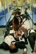 Hammer girl kills her eneimes