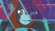 Octopunch in Cybertronian Space Ship