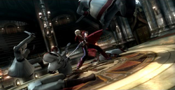 Dante vs. the Order of the Sword
